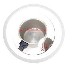 22/24/26/28/32 cm pressão fogões branco silicone junta de borracha anel vedação anel cozinha cozinhar ferramentas