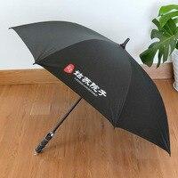 30 zoll Business Regenschirm Anpassbare Logo Werbung Regenschirm Großhandel Volle Faser Ultra Große Wind Beständig Gerade Pol S auf
