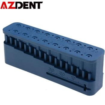 Dental Endodontic Ruler Endo Block Files Measuring Tools Accessory Plastic Dental Mini Endo Dentist Instrument Ruler Oral Tools