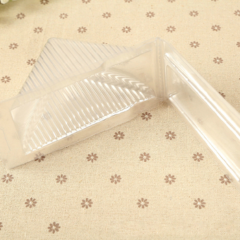100pcs/lot Individual cupcake boxes Sandwich Packaging Cake Boxes Plastic Cake Packing Box Gift Bakery Cake Packaging
