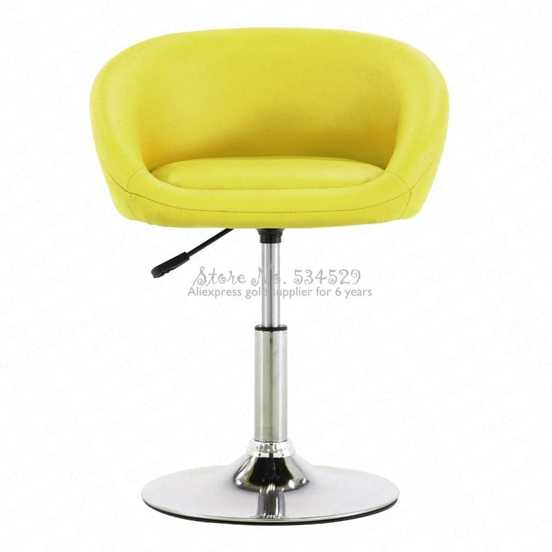 30%B Bar Chair Lift Chair Home Swivel Chair Nail Beauty Stool Back Makeup Chair Modern Minimalist High Stool