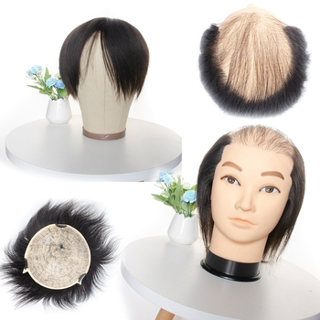 Male Mannequin Hairdressing Training Head With 100% 8inch Human Hair Cosmetology Hair Styling Dummy Hair Doll Manican Head 85% real human hair mannequin head for hair training styling practice professional hairdressing cosmetology doll head for braid