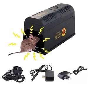 Image 1 - Behogar Electric Shock Mouse Mice Rat Rodent Trap Cage Killer Zapper Reject Rejector For Serious Pest Control EU US UK Plug