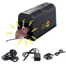 Behogar 전기 충격 마우스 마우스 쥐 설치류 함정 케이지 킬러 재빠른 심각한 해충 제어에 대한 Rejector 거부 EU 미국 영국 플러그