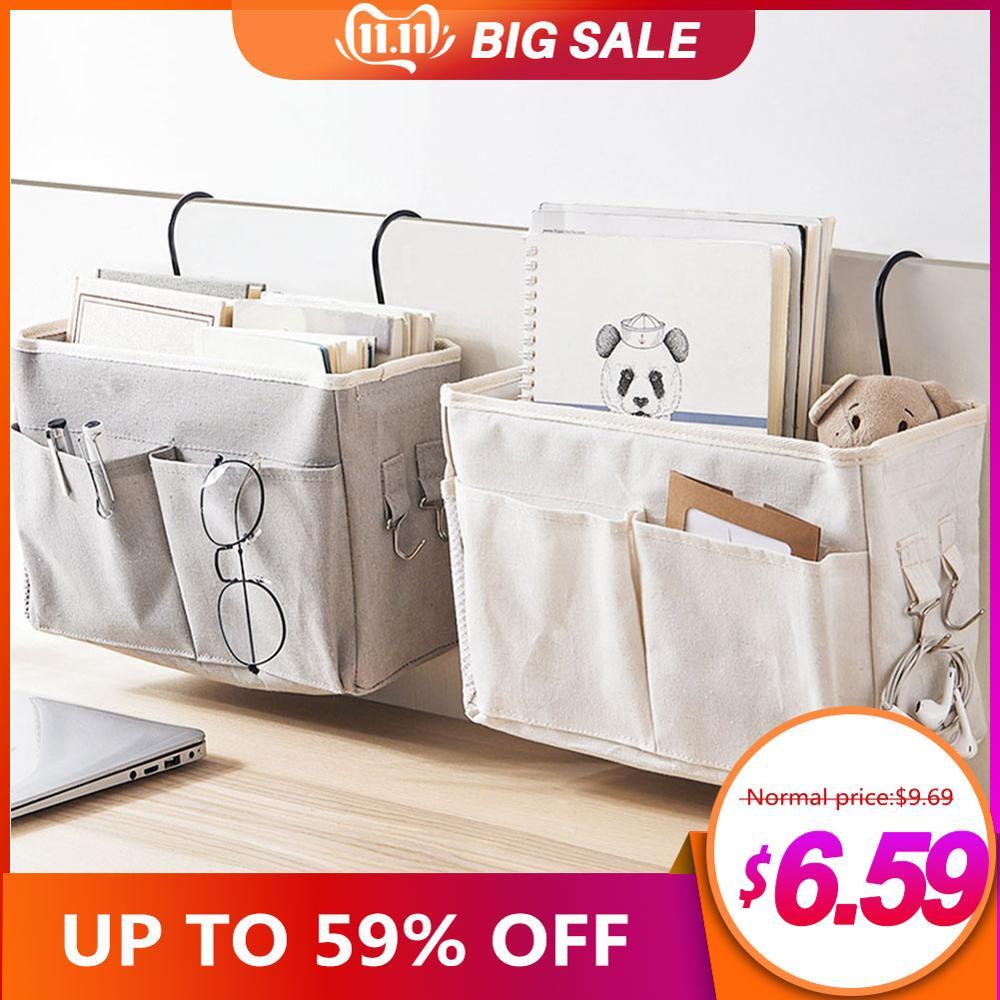 Hanging storage bag Bedside…