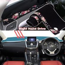 цена на Tommia China decorative pattern Car Dashmat Dashboard Mat Non-slip Dash Board Pad Cover for LEXUS NX300H NX200T NX200