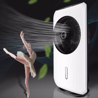 Household Spray Fan Vertical Humidification Fan Variable Frequency Atomizing Fan Remote Control Floor Cooling Fan RC 5080
