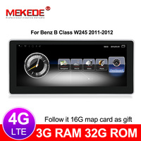 MEKEDE 3+32G Car Multimedia Player Android 7.1 Car DVD radio audio player For Benz B Class W245 2011 2012 NTG 4.0 4G lte WIFI