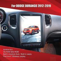 Aucar Tesla style For Dodge Durango Android multimedia Car Radio For Dodge Durango GPS Navigation Stereo 2 din headunit