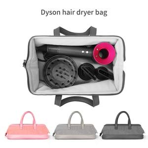 Image 1 - Liboer dyson secador de cabelo saco grande capacidade saco de armazenamento com alça para dyson secador de cabelo portátil caso transporte dustproof organizador