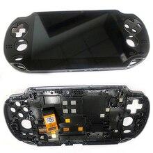 LCD ekran ekran dokunmatik ekran meclisi sayısallaştırıcı değiştirme Sony PlayStation PS Vita PSV 1000 oyun konsolu onarım parçaları