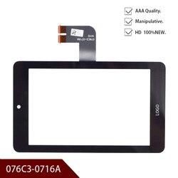 Nowy oryginalny 7 cal dla 076C3-0716A ekran dotykowy ekran do pisania ręcznego pojemnościowy ekran darmowa wysyłka