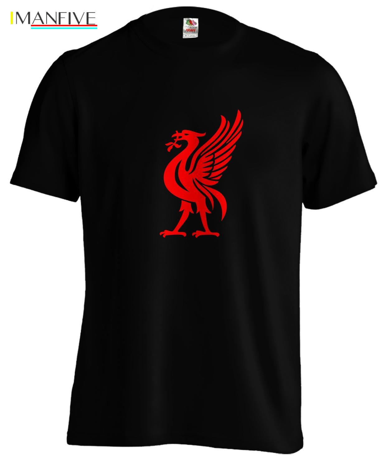 Liverpool Liver Bird Football T Shirt Tee 2019 New Fashion O Neck Slim Fit Tops Skate T Shirt in T Shirts from Men 39 s Clothing
