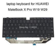 Клавиатура us для huawei matebook x pro mach w19 w29 w19b w19c