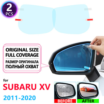 Full Cover Anti Fog Rainproof Film Rearview Mirror for Subaru XV Crosstrek WRX STI 2011~2020 Car Accessories 2012 2014 2016 2018 image