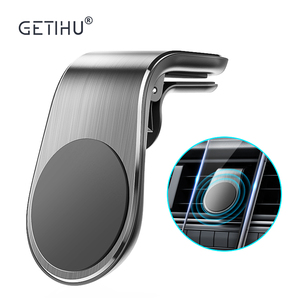 GETIHU Magnetic Car phone Holder Stand 360 Metal Air vent Magnetic Holder in Car GPS Mount For iPhone 12 xiaomi redmi note 9s 5a