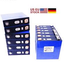 학년 새로운 3.2V 120Ah Lifepo4 배터리 8PCS 충전식 리튬 철 인산 염 태양 24V 176Ah 셀 150Ah 200Ah 세금 무료