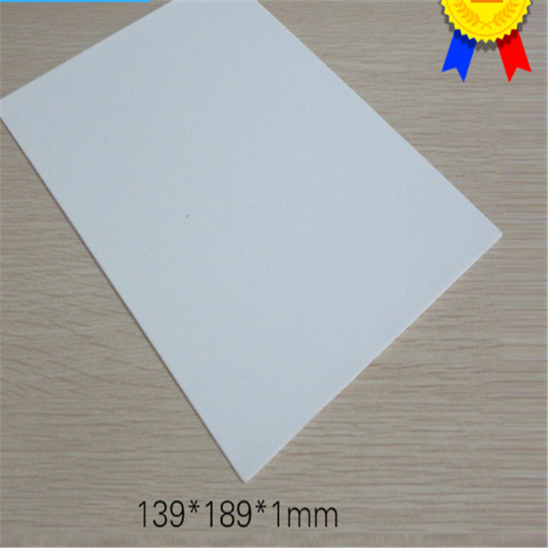 99 material alumina ceramic sheet 139*189*1mm thermal insulation insulating fin insulation gasket ceramic substrate