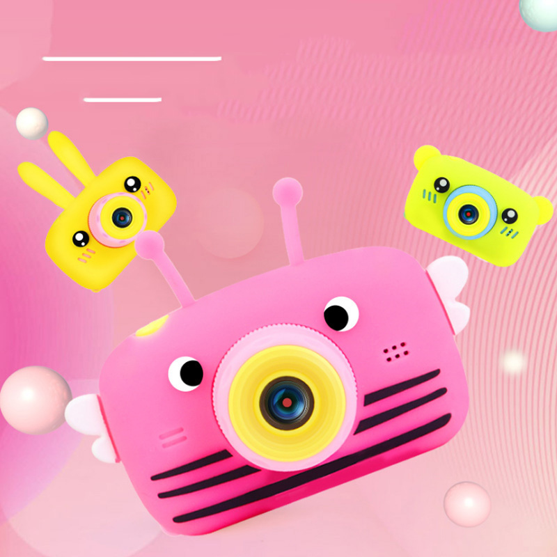 New Children Mini Camera Full HD 1080P 12MP Digital Video Photo Camera 2 Inch Screen Display Kids Camera For Children Best Gifts