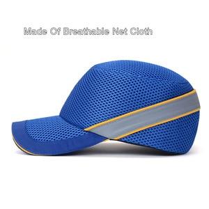Image 4 - Proteção para capacete de segurança do trabalho, mais novo chapéu de baseball com concha interna dura, estilo para trabalho, fábrica, loja