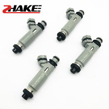 ZHAKE 4X Fuel Injector Original 23250-15040 for Vios 4A-FE 5A 7A 8A 2325015040 23209-15040 2320915040 Fuel Injection Nozzles кеды lacoste lacoste la038amadkj1
