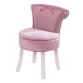 Dressing chaise style européen dressing tabouret dos princesse dressing chaise coiffeuse net rouge ins chambre tabouret