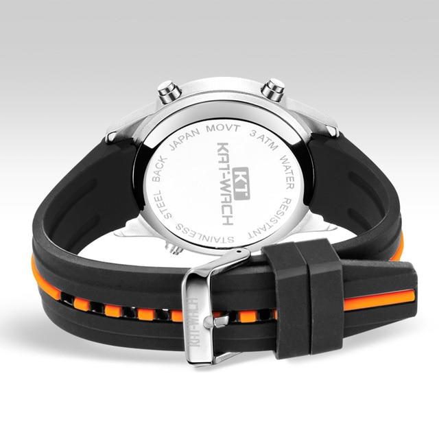 Fashion Brand Men Watch Waterproof Sport Watch Outdoor Silicone Strap Led Digital Watch Men Clock Erkek Kol Saati Hodinky 6
