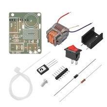 1set 15KV High Frequency DC High Voltage Arc Ignition Generator Inverter Boost Step Up 18650 DIY Kit U Core Transformer 3.7V
