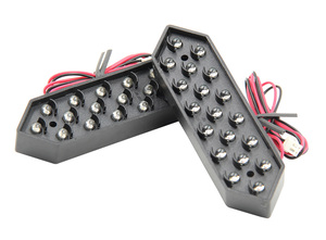 "Image 2 - 10 ""לבן צבע Digita מספרי תצוגת מודול LED סימנים 7 קטע של מודולים, 7 מגזר LED גז מחיר מודול"