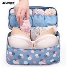 Portable Travel Bag Multi-Function Zip Bra Finishing Womens Large Capacity Underwear Storage