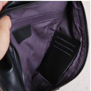 Image 5 - AETOO Nam Ngực Túi Da Túi Nam Hàng Đầu Của Lớp Da Túi Đeo Vai Túi Đeo Trước Ngực Túi Đeo