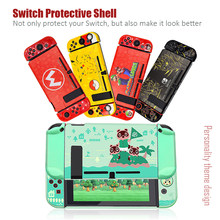 For Nintendo Switch Cute Case Nintend Switch PC Case Protective Housing Thin Shell Skin Colorful NS-Switch Accessories