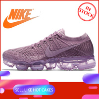Original Authentic Nike Air VaporMax Flyknit Women's Breathable Running Shoes Outdoor Sports Shoes Good Quality 849557 500