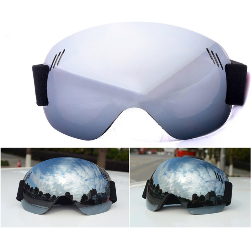 Ship From US Goggles Protection Spherical Lens Frameless Snow Sports Goggles Ski Snowboard Goggles Anti-Fog UV