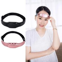 Insomnia Treatment Head Migraine Pain Relief Massager Mask Soothe Anxiety Release Stress Headband Electric Head Massager цены онлайн