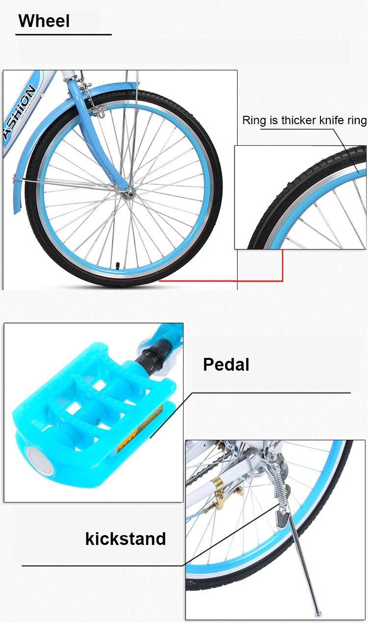 bicicleta handy comuting viagem adulto bicicleta senhora estudante homens e mulheres
