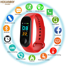 M3 Smart watch Waterproof Wristband Heart Rate Blood Pressure Monitor Bluetooth Smarwatch For xiaomi 3 band Android IOS Phone