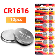 Panasonic brandnew 10 pces cr1616 coin cell button 3 v baterias br1616 ecr1616 para controle remoto elétrico de controle remoto automático