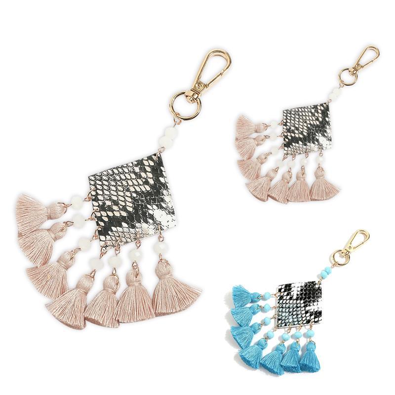 Сумка-Шарм с кисточками, многоцелевой декоративный брелок для ключей, кошелек, шарм, Сумка с кисточками, аксессуары для сумок