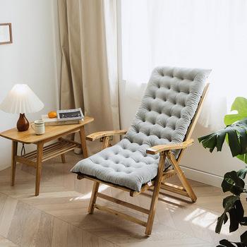 Cały sezon uniwersalny fotel rozkładany na Patio na świeżym powietrzu fotel wypoczynkowy materac miękki fotel bujany Pad tanie i dobre opinie CN (pochodzenie) Poduszka na siedzenie poduszka na oparcie Massage pamięć Przeciwodleżynowa Nie można zdjąć nadaje się do prania