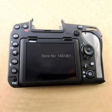 Nowy ekran dotykowy wyświetlacz LCD assy z tylną pokrywą i częściami do naprawy zawiasów LCD do lustrzanek Nikon D850