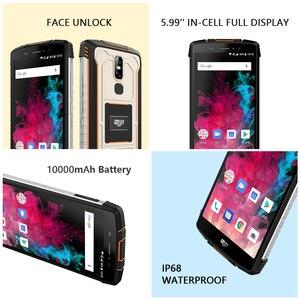 """Image 3 - HOMTOM ZJI Z11 携帯電話 IP68 5.99 """"MTK6750T オクタコアデュアル sim 10000 3000mah のアンドロイド 8.1 フェイスアンロック 4 1GB の RAM 64 ギガバイト ROM スマートフォン"""