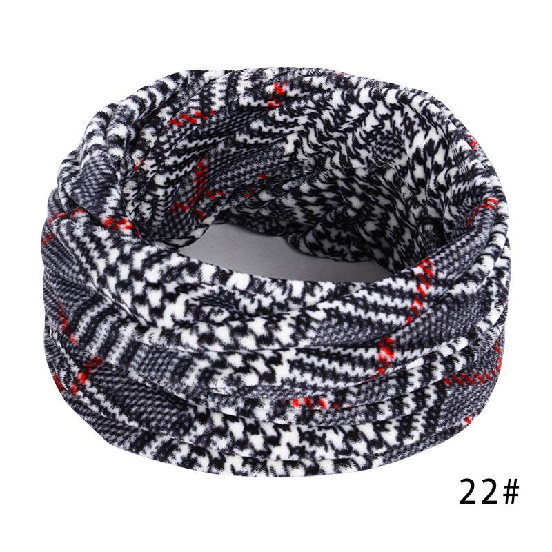 Новинка, осенне-зимний женский шарф с принтом для женщин, модный бархатный тканевый шарф, мягкий удобный женский винтажный шарф - Цвет: 22