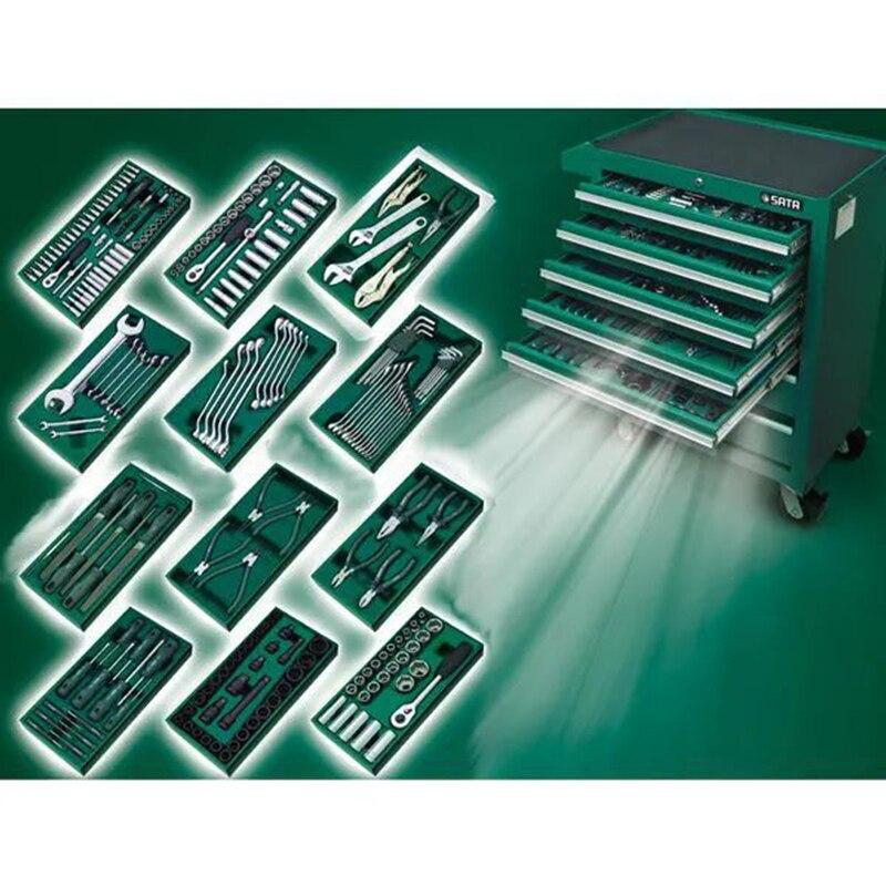 SATA 09918 For Инструм. Trolley (680X458x860) 7 выдвиж. Trays. Set инструм. 246пр. In 12 U. L. 49869