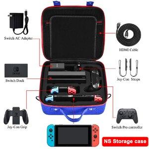 Image 1 - Eva Opslag עבור Nintendo Schakelaar זק משחק קונסולת NS Gastheer אביזרים חבילה Nintend Schakelaar אביזרים Joycon מקרה תיבה