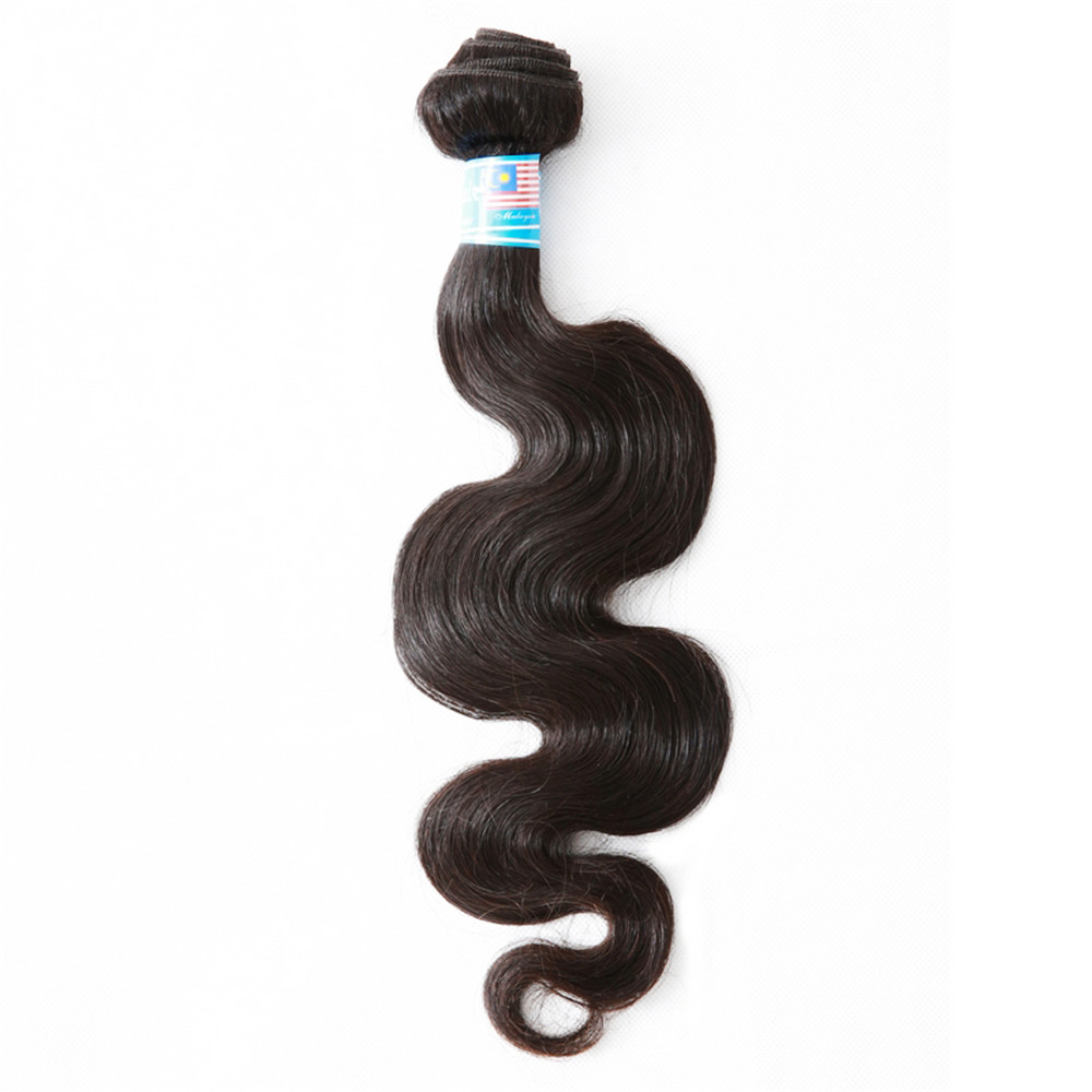 """Mayflower 100% Unprocessed Virgin Malaysian Body Wave Hair Natural Color Can Be Dye 1/2/3/4 Bundles 12-26"""" Mixed Length"""