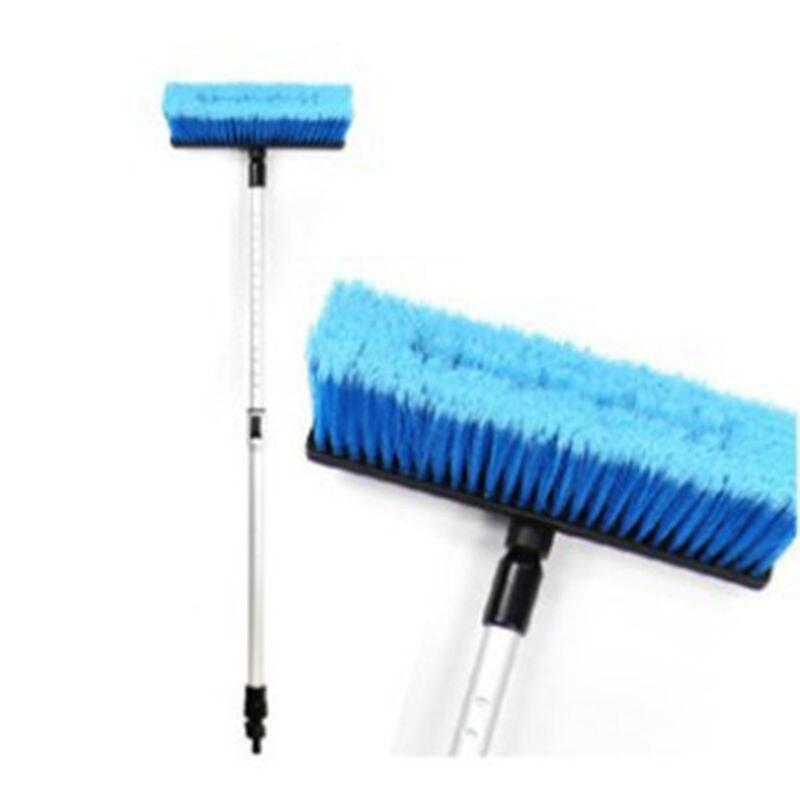 Car Flow through Wash Brush Telescoping Handle Soft Cleaning Head RV Truck Wash Trailer|Car Washer|   - title=