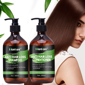 Brazilian Keratin Natural Extract Hair Loss Treatment 300mL MANKANI Ginger Anti Hair Loss Shampoo &Conditioner image