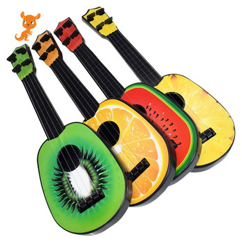 1Pc Children Kids Learn Guitar Mini 4 String Cute Fruit Ukulele Children Kids Musical Instruments Educational Ukulele Toys Gift new beginner children guitar ukulele educational musical instrument toy for kids interesting toys gift children s gift