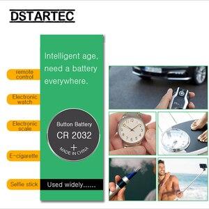 Image 3 - 5pcs 210mAh เซลล์แบตเตอรี่ปุ่ม CR2032 DL2032 CR 2032 KCR2032 5004LC ECR2032 3V แบตเตอรี่ลิเธียมนาฬิกาของเล่น LED LIGHT